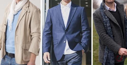 男性会員様 推奨 服装 ジャケットパンツ